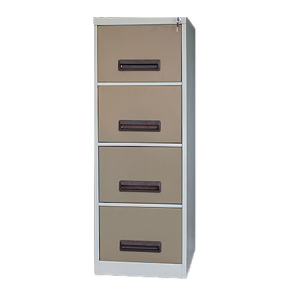 FILING CABINET 1320 X 470 X 630 MM 4 DRAWER