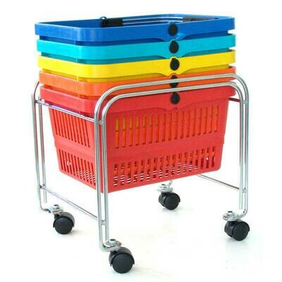 MOBILE BASKET STAND