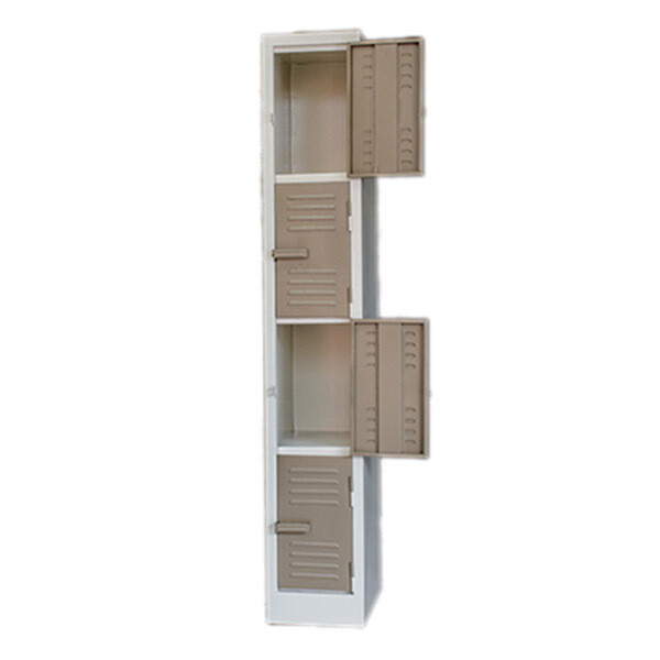 SOLID STAFF FACTORY LOCKER 1800X300X450 MM 4 TIER IK