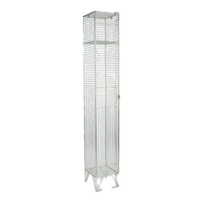 WIRE MESH STAFF LOCKER 1750 X 300 X 450 1 COMP
