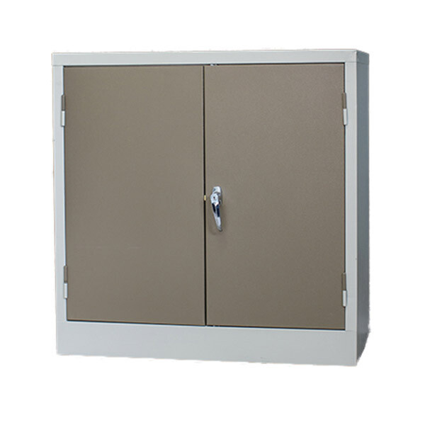 STATIONERY CUPBOARD 900X900X450 MM - IVORY