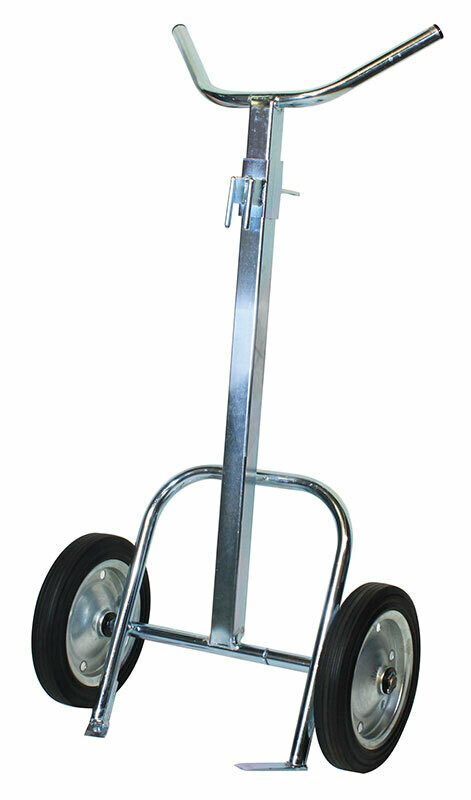 SINGLE ARM DRUM TROLLEY 1250MM x 700MM