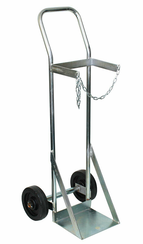 OXYGEN TROLLEY SINGLE 1100MM x 300MM