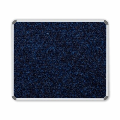 BULLETIN BOARD ALU FRAME 1200 X 1000MM BLUE
