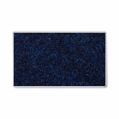 BULLETIN BOARD ALU FRAME 1500 X 900MM DENIM