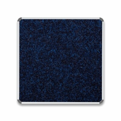BULLETIN BOARD ALU FRAME 900 X 900MM DENIM