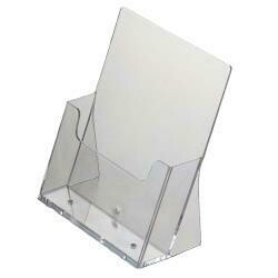 ACRYLIC MENU HOLDER/TABLE BROCHURE HOLDER A5
