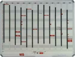 YEAR PLANNER MAGNETIC 1200 X 900MM