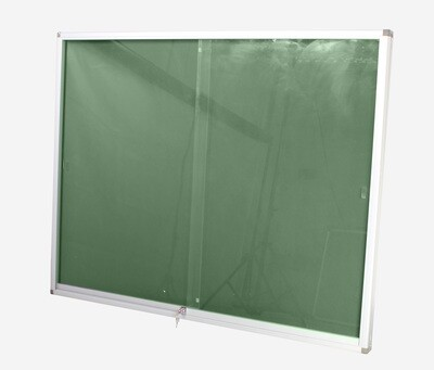 DISPLAY CASE PINNING BOARD 1200 X 900MM GREEN