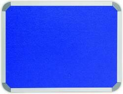 INFO BOARD - ALU FRAME, FELT 2400 X 1200MM ROYAL BLUE