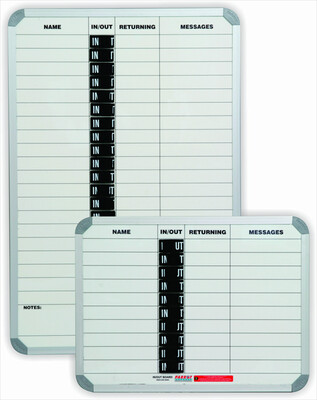 IN/OUT BOARD MAGNETIC 10 NAME