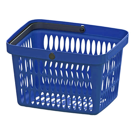 HAND BASKET BLUE
