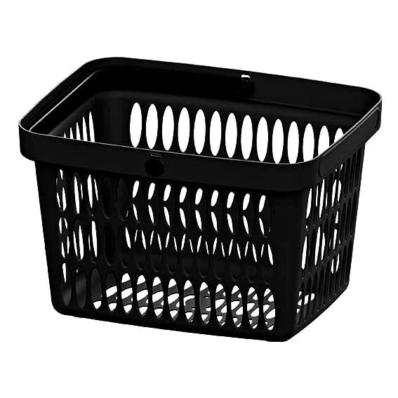 HAND BASKET BLACK