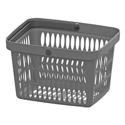 HAND BASKET GREY