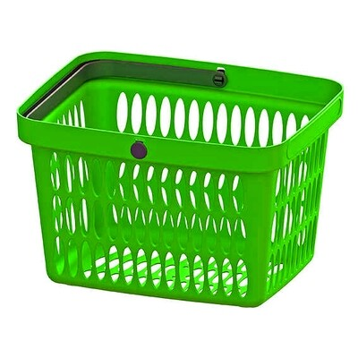 HAND BASKET GREEN