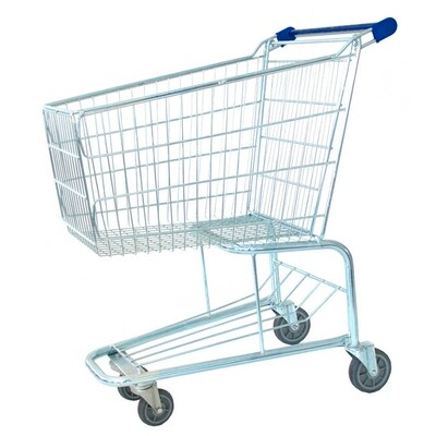 SHOPPING TROLLEY BLUE 100 LT