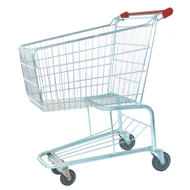 SHOPPING TROLLEY RED 100 LT