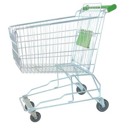 SHOPPING TROLLEY GREEN 140 LT