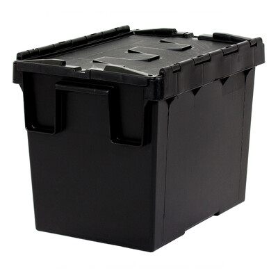 SECURITY CONTAINER BLACK  300 X 200 X 182MM