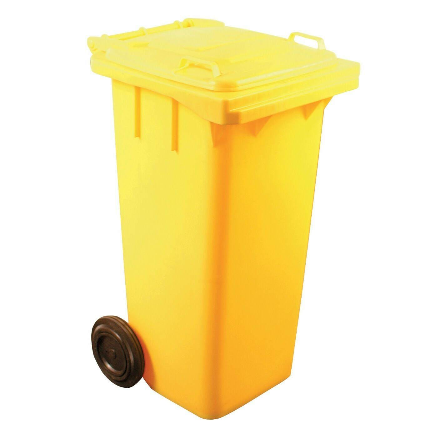 WHEELIE BIN YELLOW 240L