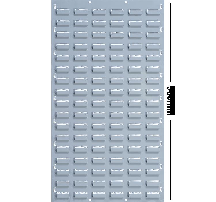 LOUVRE PANEL 900 X 450 MM GALVANIZED