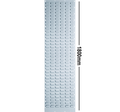 LOUVRE PANEL 1800 X 450 MM GALVANIZED