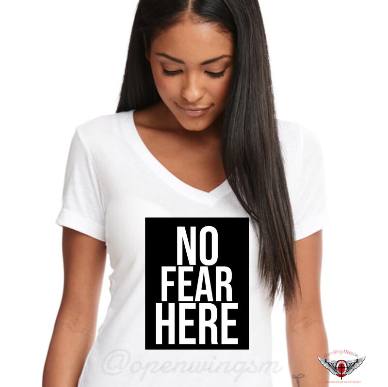 White (Women cut) No fear here