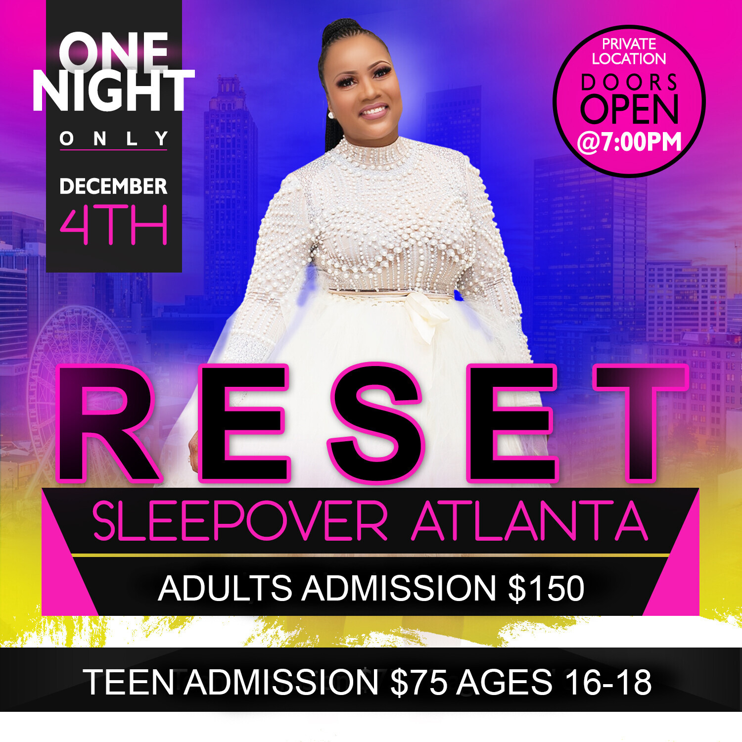 SOLD OUT RESET ATLANTA 2020