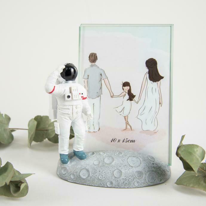 Portaretrato Astronauta