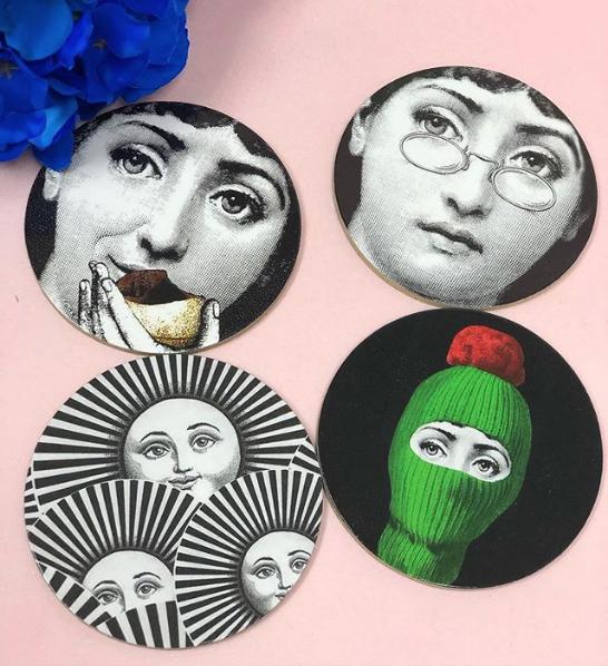 Portavasos Decorativos - Cool Coasters Set of 4