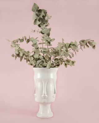 Face Flower Vase - Tall