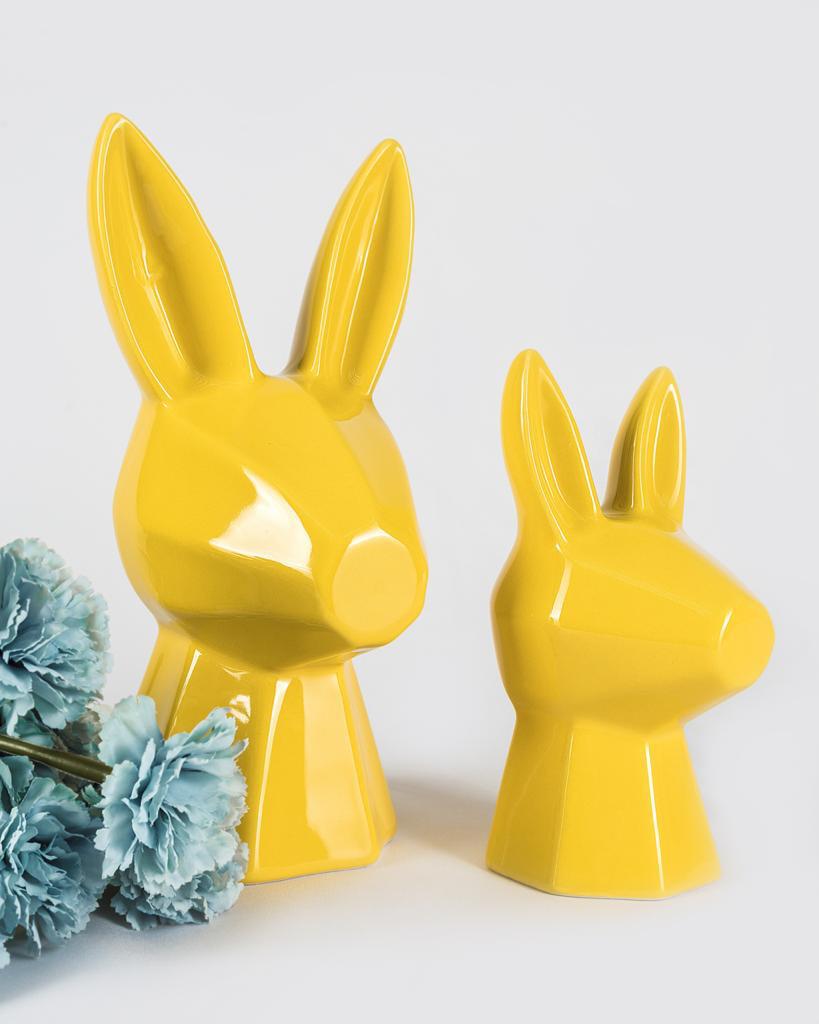 Set Conejos Sculptures - Cool Ornaments