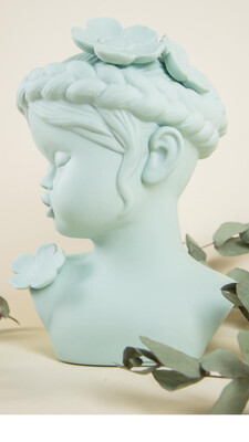 Cute Aqua Lady - Cool Ornaments