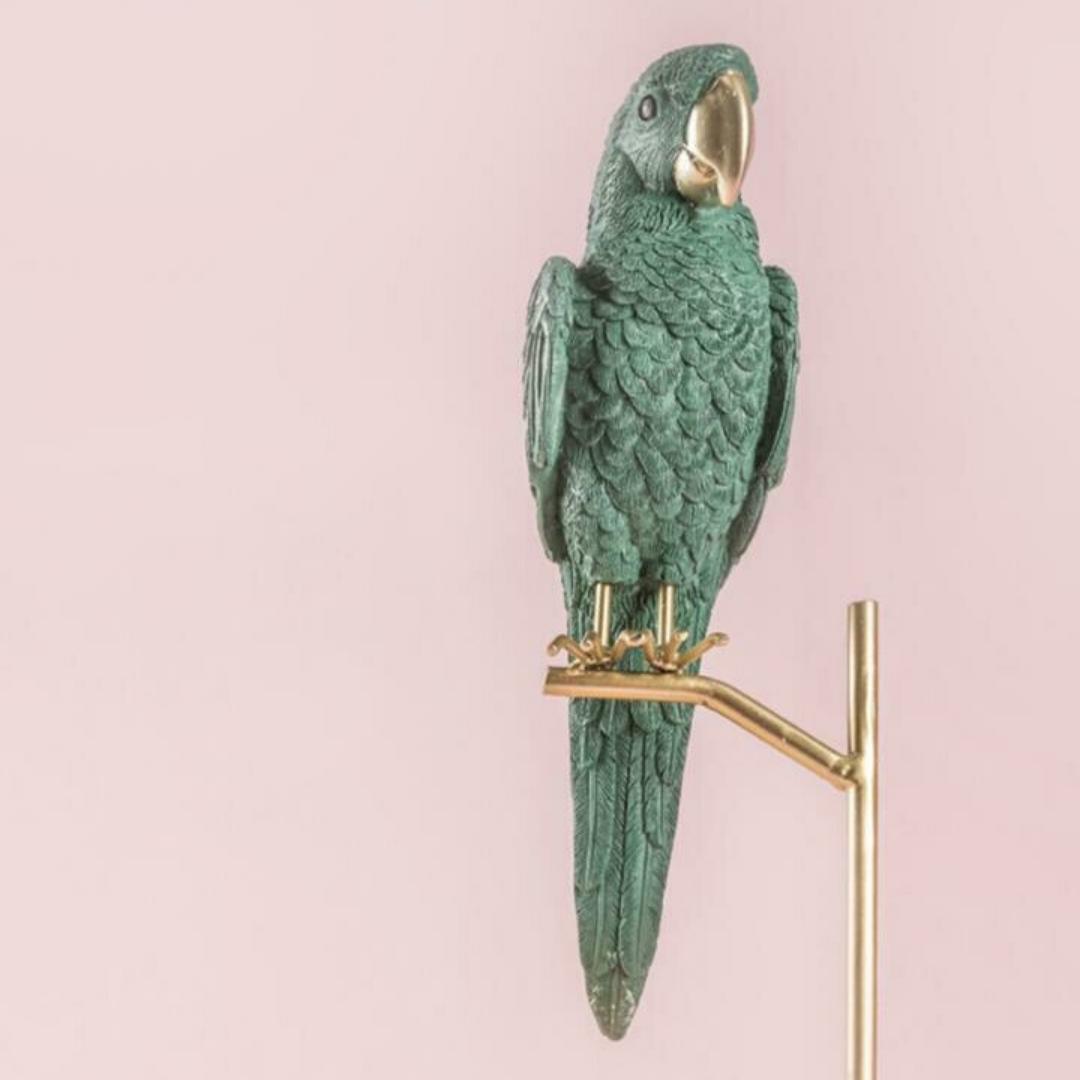 Cotorrita Verde - Cool Ornaments