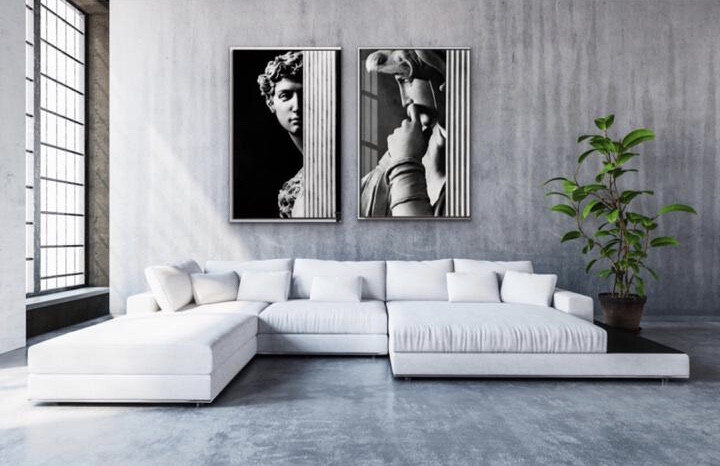 Canvas Print - Black & White