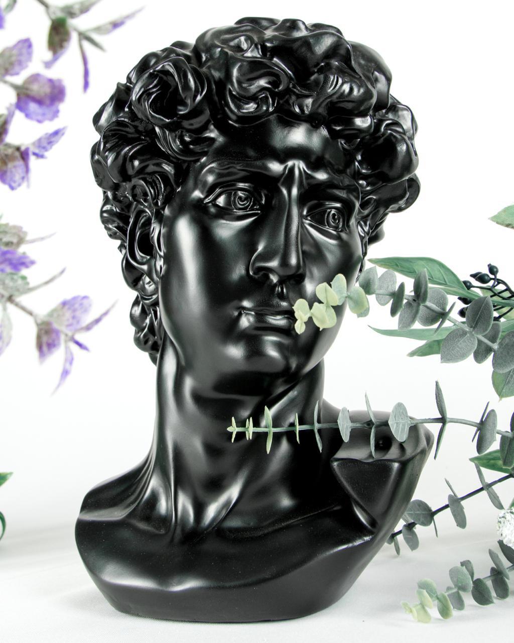 Cabeza David Sculpture - Cool Ornaments