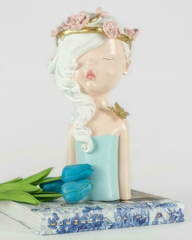 Pink Princess Sculpture - Cool Ornaments