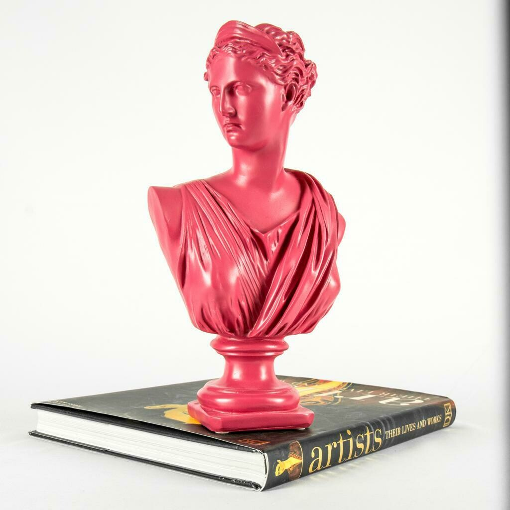 Lady Sculpture (Pink) - Cool Ornaments
