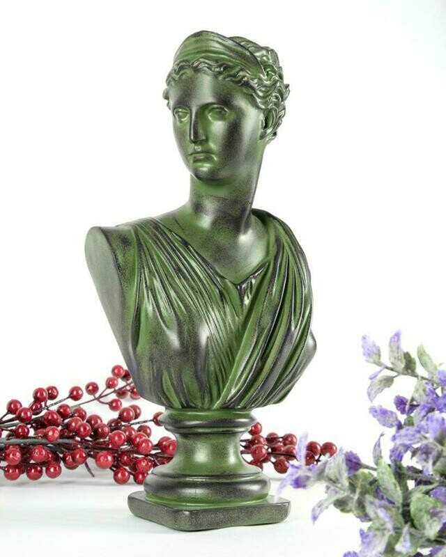 Lady Sculpture (Green) - Cool Ornaments