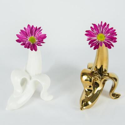 Bananas Flower Vase
