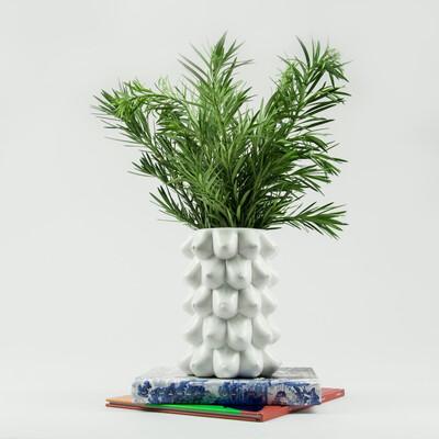 Flower Vase White