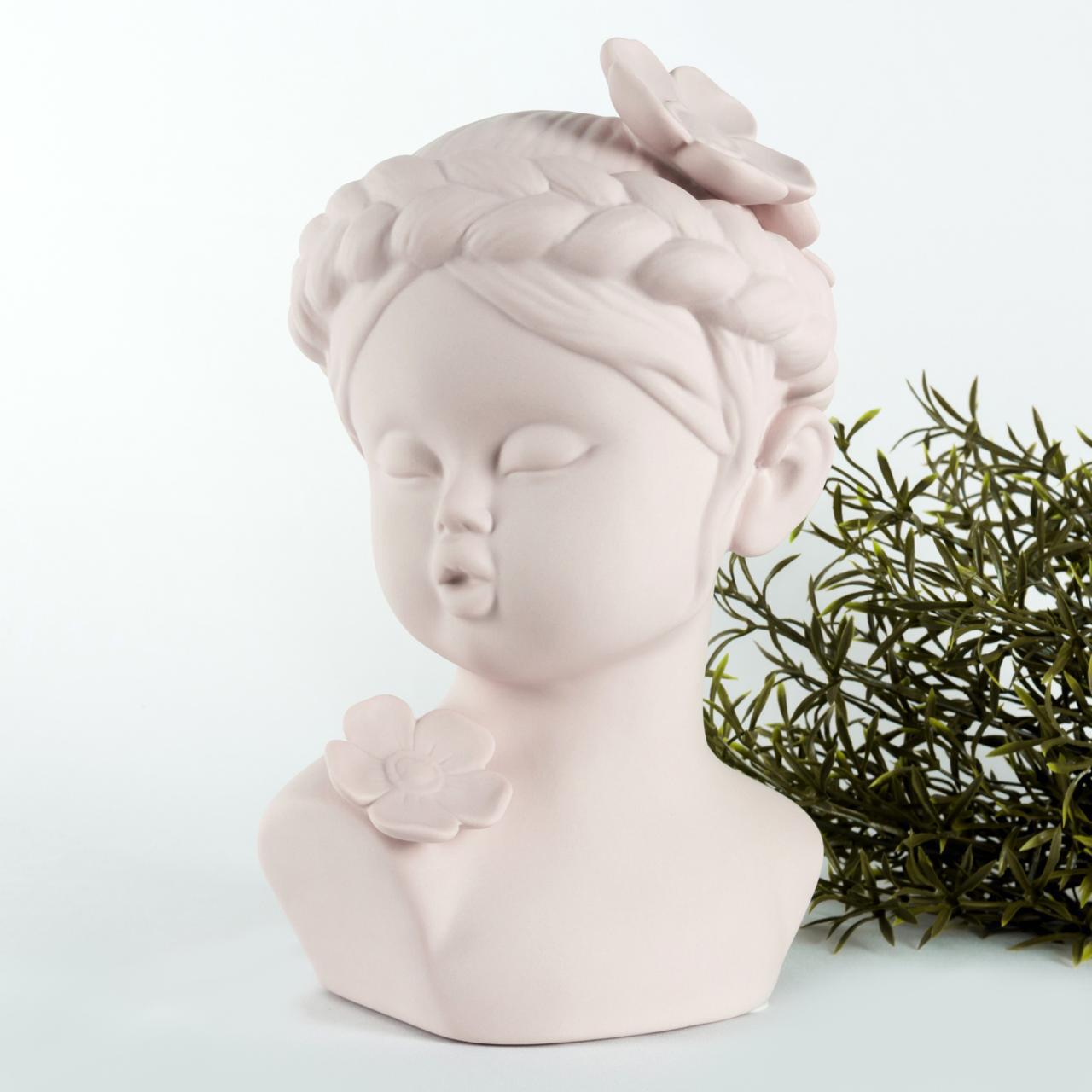 Cute Pink Girl Sculpture - Cool Ornaments