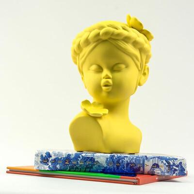 Cute Yellow Girl - Cool Ornaments