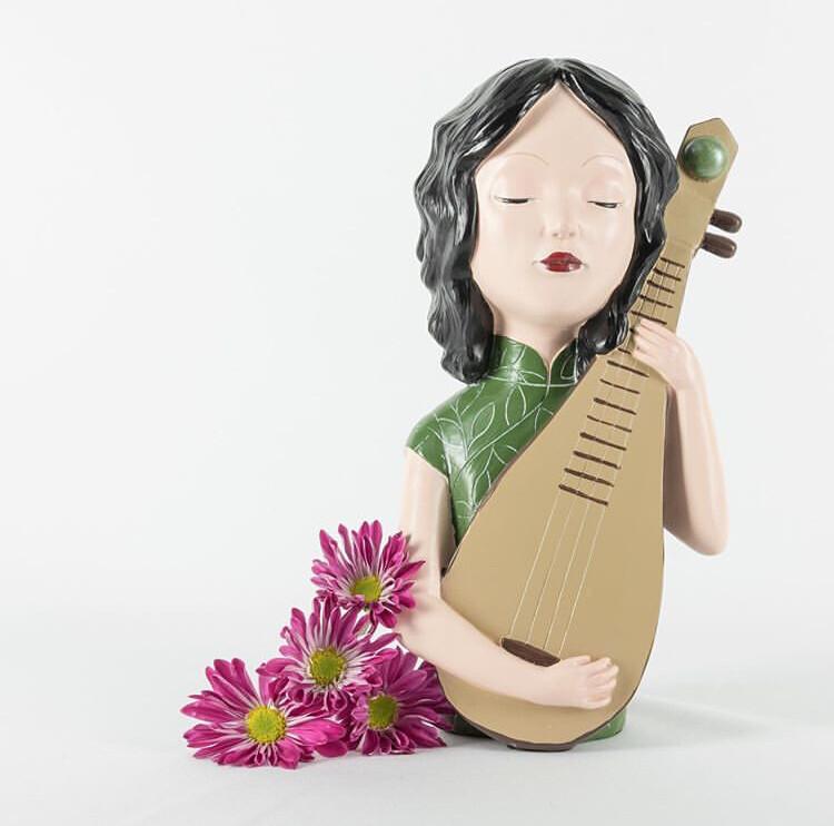 Guitar Girl - Cool Ornaments