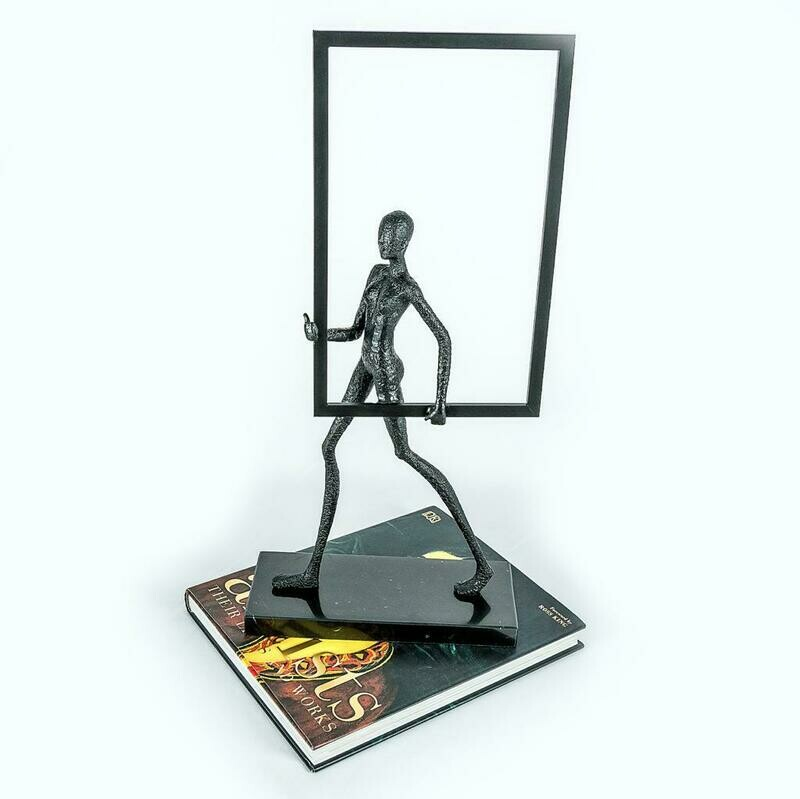 Manly Frame Sculpture - Cool Deluxe
