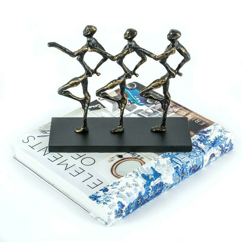 Marching Guys Sculpture - Cool Deluxe