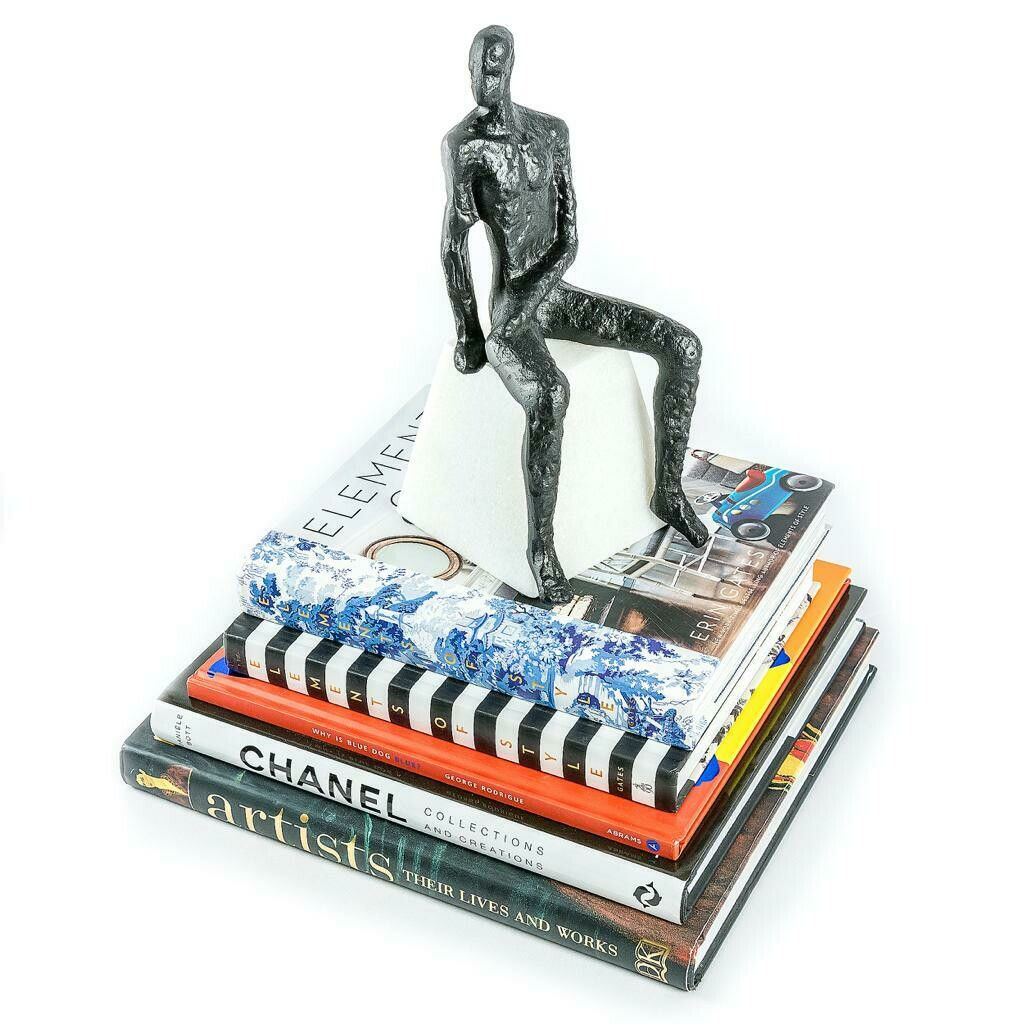 Sit Man Sculpture - Cool Deluxe
