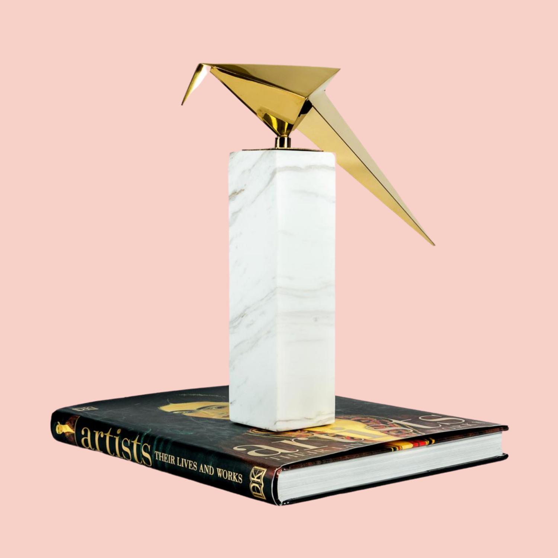 Gold Bird 1 Sculpture - Cool Deluxe