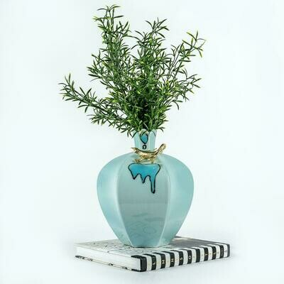 Blue Vase - Flower Vase