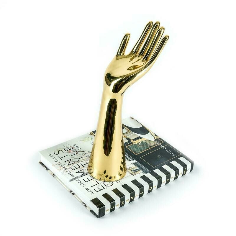 Gold Hand Sculpture - Cool Deluxe